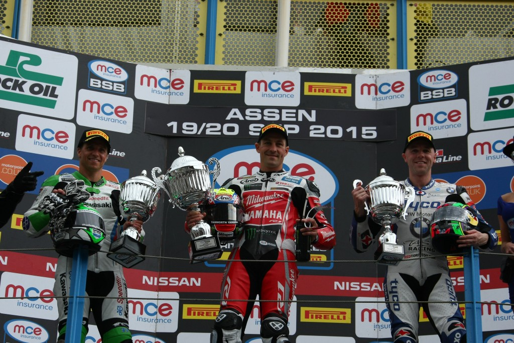 PODIUM FOR LAVERTY BUT DISAPPOINTMENT FOR BRIDEWELL AT ASSEN