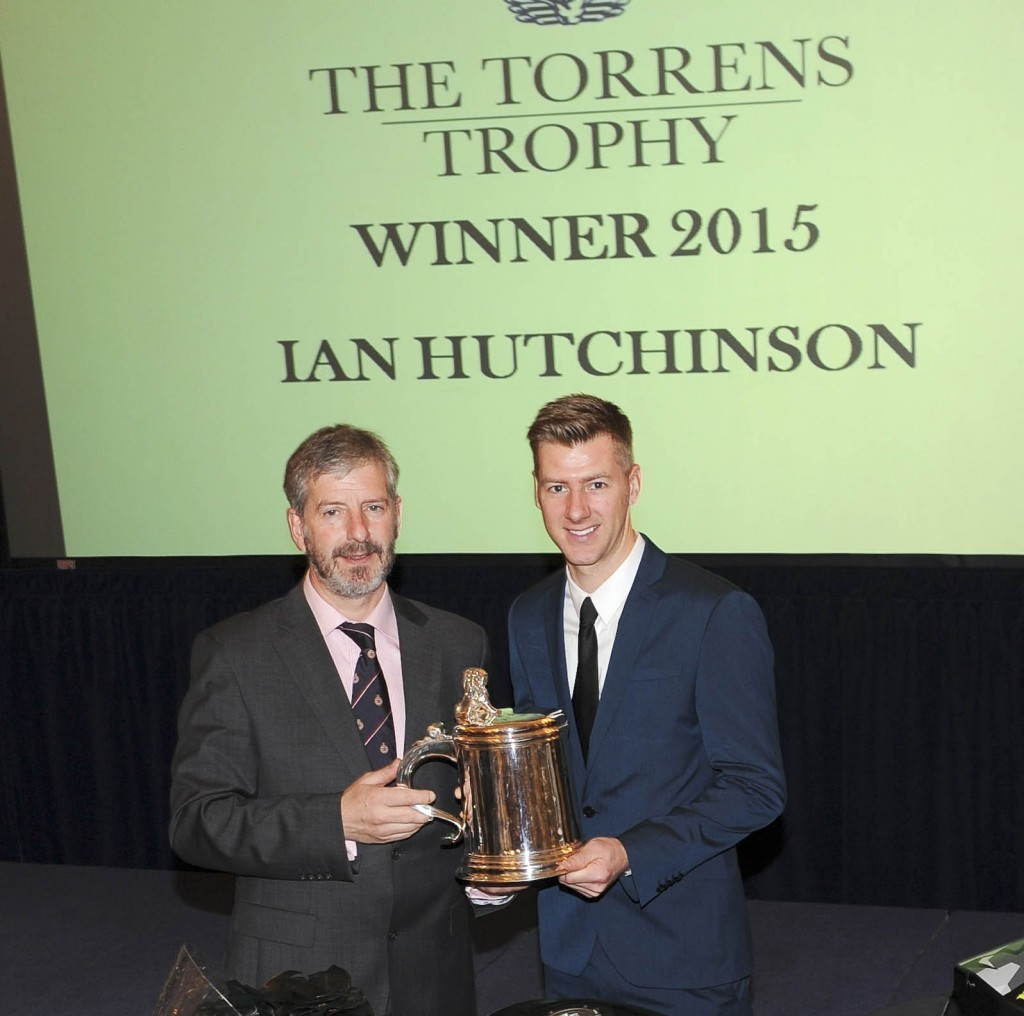 HUTCHY RECEIVES TOP AWARD & RECOGNITION